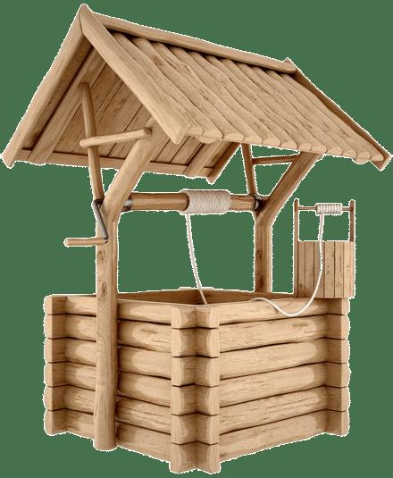 Процесс очищения колодца в Шаховском районе