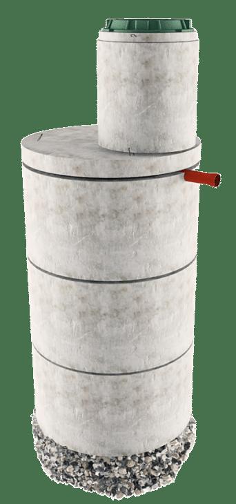 Септик из бетонных колец в Шаховском районе